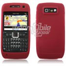 RED GRIP SOFT SILICONE RUBBER GEL SKIN 4 NOKIA E71 71X