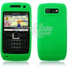 GREEN GRIP SOFT SILICONE RUBBER GEL SKIN 4 NOKIA E71 71X