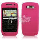 PINK GRIP SOFT SILICONE RUBBER GEL SKIN 4 NOKIA E71 71X