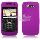 PURPLE/MAGENTA GRIP SOFT SILICONE RUBBER GEL SKIN 4 NOKIA E71 71X