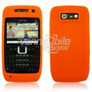 ORANGE GRIP SOFT SILICONE RUBBER GEL SKIN 4 NOKIA E71 71X