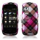 PINK ARGYLE DESIGN CASE COVER 4 SAMSUNG INSTINCT HD S50