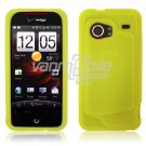 GREEN SILICONE SKIN CASE for HTC DROID INCREDIBLE
