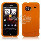 ORANGE SILICONE SKIN CASE for HTC DROID INCREDIBLE