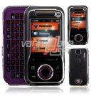 CLEAR CASE COVER for VERIZON MOTOROLA RIVAL PHONE A455