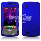 Dark Blue HARD 2-PC CASE COVER for LG CHOCOLATE TOUCH