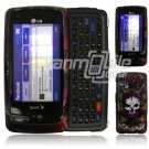 LION SKULL SNAKE FACE PLATE CASE for LG RUMOR TOUCH NEW