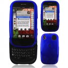 Hard Plastic Glossy Smooth Shield Cover Case for Palm Pre - Blue