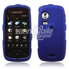 BLUE HARD 2-PC SNAP ON CASE for SAMSUNG INSTINCT HD NEW