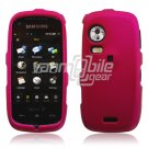 Rose Pink HARD 2-PC SNAP ON CASE for SAMSUNG INSTINCT HD NEW