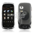 Clear HARD 2-PC SNAP ON CASE for SAMSUNG INSTINCT HD NEW
