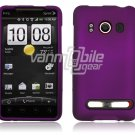 Purple 1-PC HARD PLASTIC ACCESSORY for HTC EVO PHONE
