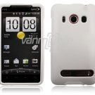 White 1-PC HARD PLASTIC ACCESSORY for HTC EVO PHONE
