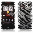 Zebra Design Hard 2-Pc Faceplate Case for HTC Droid Incredible (Verizon Wireless)