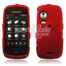 RED HARD 2-PC SNAP ON CASE for SAMSUNG INSTINCT HD NEW