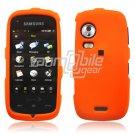 Orange HARD 2-PC SNAP ON CASE for SAMSUNG INSTINCT HD NEW