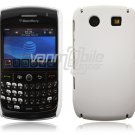 WHITE HARD SHELL CASE COVER for BLACKBERRY CURVE 8900