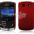 RED HARD SHELL CASE COVER for BLACKBERRY CURVE 8900