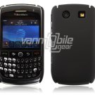 BLACK HARD SHELL CASE COVER for BLACKBERRY CURVE 8900