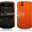 Hard Plastic Rubber Feel Cover Case for BlackBerry Tour 9600/9630 - Orange