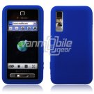 BLUE GEL JELLY SKIN CASE COVER 4 SAMSUNG BEHOLD T919