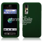 GREEN GEL JELLY SKIN CASE COVER 4 SAMSUNG BEHOLD T919