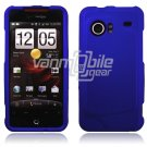BLUE HARD FACE PLATE CASE for HTC INCREDIBLE PHONE