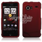 RED HARD FACE PLATE CASE for HTC INCREDIBLE PHONE