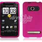 HOT PINK SOFT ACCESSORY SKIN CASE for SPRINT HTC EVO 4G NEW