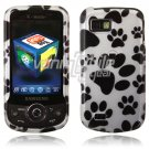 Hard Plastic Design Hard Case for Samsung Behold 2 T939 - Paws