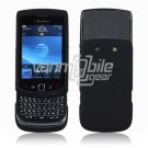 BLACK HARD RUBBERIZE CASE for BLACKBERRY TORCH PHONE BB