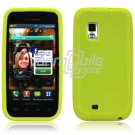 GREEN SILICONE SKIN CASE for SAMSUNG FASCINATE