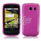 SOLID PINK GLOSSY TPU CASE for LG OPTIMUS S