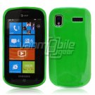 SOLID GREEN GLOSSY TPU CASE for SAMSUNG FOCUS i917