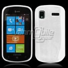 SOLID WHITE GLOSSY TPU CASE for SAMSUNG FOCUS i917