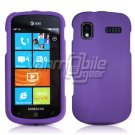PURPLE HARD RUBBERIZED CASE for SAMSUNG FOCUS i917