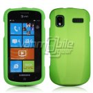 GREEN HARD RUBBERIZED CASE for SAMSUNG FOCUS i917