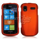 ORANGE HARD RUBBERIZED CASE for SAMSUNG FOCUS i917