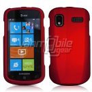 RED HARD RUBBERIZED CASE for SAMSUNG FOCUS i917