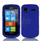 BLUE SOFT SILICONE SKIN CASE for SAMSUNG FOCUS i917