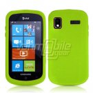 GREEN SOFT SILICONE SKIN CASE for SAMSUNG FOCUS i917