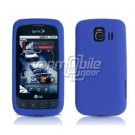 BLUE SOFT SILICONE SKIN CASE + Screen Protector + Car Charger for LG OPTIMUS S