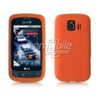 ORANGE SOFT SILICONE SKIN CASE + Screen Protector + Car Charger for LG OPTIMUS S