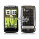 SMOKE ARGYLE DESIGN TPU CASE + Screen Protector for HTC THUNDERBOLT