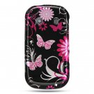 Samsung Holic Hard black butterfly design case