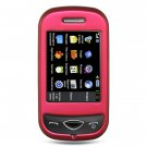 Samsung Holic Pink hard rubberized cover