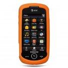Samsung Samsung Solstice 2 Orange Silicone + Screen Protector
