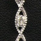 18K White Gold 0.13cts. Diamond Pendant