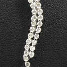 9K White Gold 0.36cts Diamond Pendant