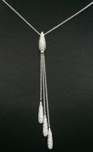 18K White Gold 2.50cts Diamond Necklace